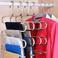 Amazon.com: 5 Layers S Shape <b>Multifunctional</b> Clothes Hangers ...