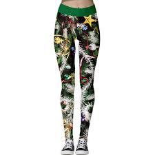 <b>Christmas</b> Printed Women Fitness Pants Slim Skinny Long Pant ...