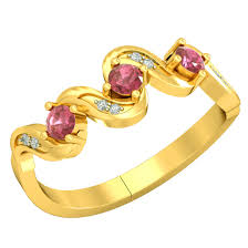<b>Romantic</b> Rendezvous - <b>Real</b> Diamond & <b>Ruby</b> Ring