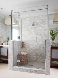 Fine Bathroom Walk In Shower Ideas 15 Stylish Seats For Walkin Showers On Models Design