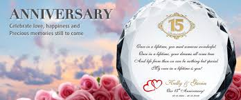 15th Wedding Marriage Anniversary poems Messages Wishes for her via Relatably.com
