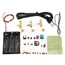 FM Transmitter Kit <b>RF</b>-02 <b>Wireless</b> Microphone Parts MP3 Repeater ...