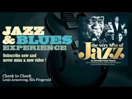 <b>Louis</b> Armstrong, <b>Ella Fitzgerald</b> - Cheek to Cheek - YouTube