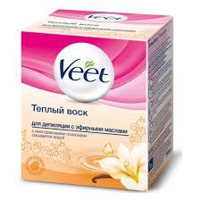 <b>Теплый воск для депиляции</b> VEET с эфирными маслами, 250 мл ...