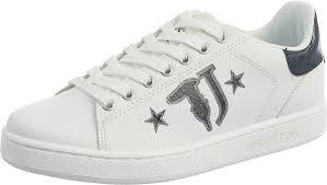 Слипоны женские <b>Trussardi Jeans</b>, цвет: черный. 79A00391 ...