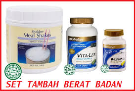 SET LENGKAP TAMBAH BERAT BADAN SHAKLEE