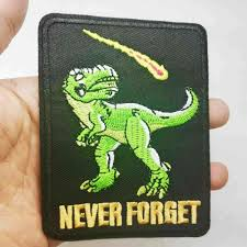 <b>Dinosaur</b> Wholesale <b>Iron</b> on Embroidered Cloth Clothes Patch For ...