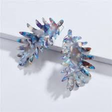 new fashion acrylic earrings accessories fruit lovely temperament mango avocado cantaloupe long earrings for women