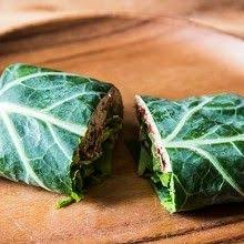 Image result for tuna collard wraps