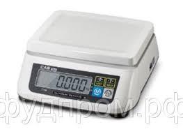 <b>Весы</b> торговые фасовочные <b>CAS</b>-<b>SWN 6C</b> (до 6кг), цена 5050 ...