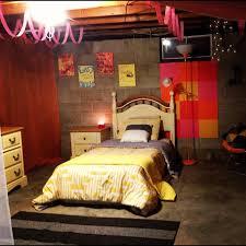 seductive basement bedroom ideas with minimalist bed also lush lighting basement bedroom lighting ideas