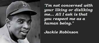 Jackie Robinson Quotes. QuotesGram via Relatably.com