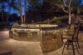gallery outdoor kitchen lighting: image of kitchen outdoor led landscape lighting