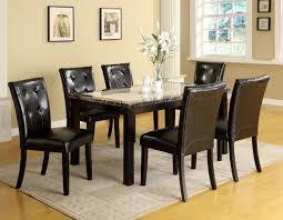Granite Dining Room Tables Black Dining Room Table Set Agathosfoundation Org And White Clipgoo