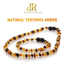 <b>DR Genuine Baltic Amber</b> Teething Necklace Bracelet for babies ...