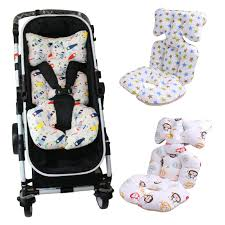 <b>Baby Printed Stroller Pad</b> Seat Warm Cushion Pad mattresses ...