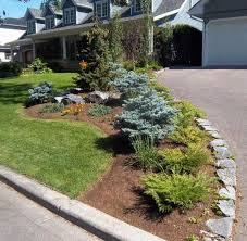 landscaping ideas with rocks corner fence stone border along driveway surrounding flower bed bedroommagnificent lush landscaping ideas