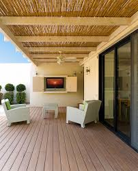 staggering outdoor tv enclosure decorating ideas for deck contemporary design ideas with staggering bamboo ceiling ceiling patio ceiling decorating ideas amazing bamboo furniture design ideas