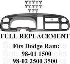 1998-2001 1999 2000 Dodge Ram 1500 Dash Bezel ... - Amazon.com