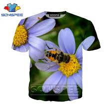 <b>Anime 3d print</b> t shirt streetwear animal bee Men <b>Women</b> fashion t ...