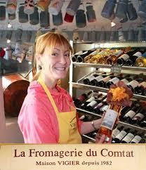 Fromage et vin à carpentras avec Claudine Vigier | ShowViniste - madame-vigier