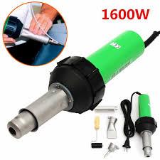 <b>220V</b> 1600W 50Hz Electronic <b>Heat</b> Hot Air Torch Plastic Welding ...