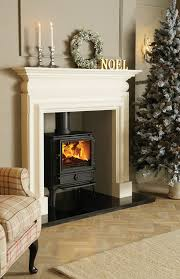 living room fireplace wooden