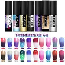 <b>LILYCUTE</b> Mood <b>Temperature</b> UV Gel Nail Polish <b>Thermal Color</b> ...