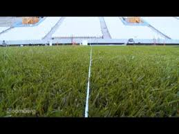 World-Class Hybrid Grass for the World Cup - YouTube