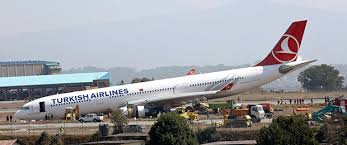 Image result for crashed turkish plane at nepal airport