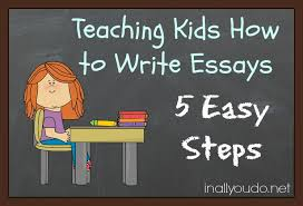 steps to writing an essay for kids   sksupertmt comdissertation headings apa th edition