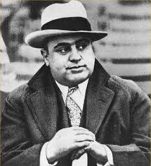 Alphonse Gabriel    Al    Capone  the most powerful leader of the Chicago Outfit