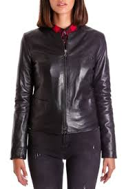 <b>Кожаная куртка AD MILANO</b> арт 0174_BLACK BLACK ...