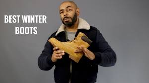 Top 8 Best And Most Stylish <b>Men's Winter Boots</b> - YouTube