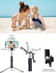 Mpow Selfie <b>Stick</b> Tripod, 3 In 1 <b>Multifunctional</b> Selfie: Amazon.co.uk ...