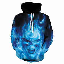 Skull 3D Dot Printing Men <b>Halloween Hoodies 2019 Autumn</b> Long ...