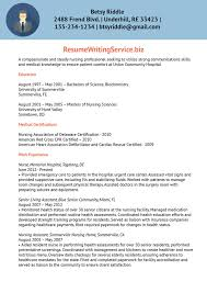 nurse resume writer nurse resume sample by resume writing