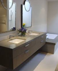 design basin bathroom sink vanities: view in gallery tantalizing bathroom design with beautiful mirrors and brown floating sink