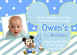 diy st birthday invitation templates com designs mickey mouse first birthday invitations