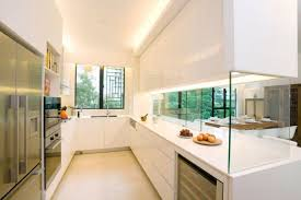 white kitchen windowed partition wall: kitchen with cabinet dividers of the room