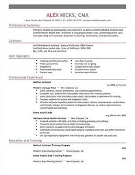 in your medical assistant resume show that you are