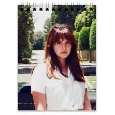 Блокнот <b>Lana Del</b> Rey #840378 от flipside