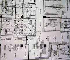 architectectural drawing of office space if accessibility requirements accessible office space