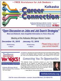 career connection northwest michigan works latest flier