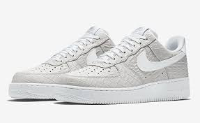 nike air force 1 low white croc af1 white