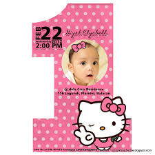 hello kitty birthday invitations invitations design one hello kitty birthday invitations