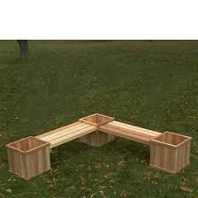 cedar bench planter plans cedar bench plans