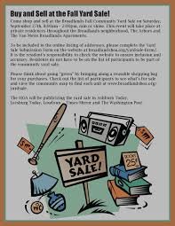 garage broadlands hoa fall sept 2014 yard flyer check out our yard