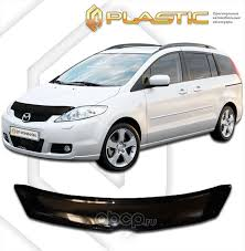 CA plastic 2010010104511 <b>Дефлектор капота Mazda</b> 5 2005 ...