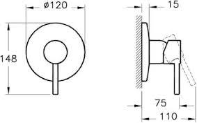 *<b>Гигиенический набор Vitra</b> Minimax S A49218EXP хром | Афоня.рф